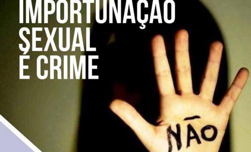 Policiais de União da Vitória atendem caso de importunação sexual