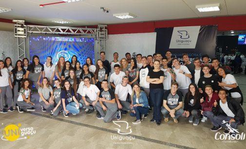 Uniguaçu de Portas Abertas recepciona mais de mil estudantes