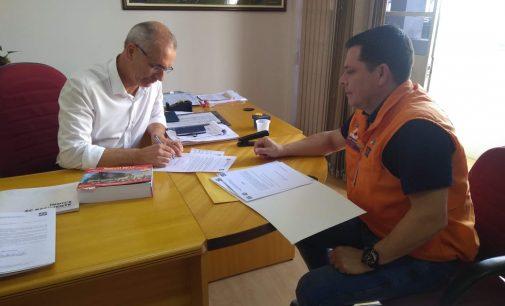 Porto União recebe orientação da Defesa Civil Estadual