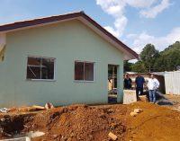 Cohapar realiza vistoria nas novas casas de Bituruna