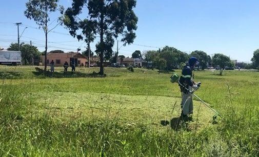 40 novos funcionários iniciam trabalho de limpeza urbana