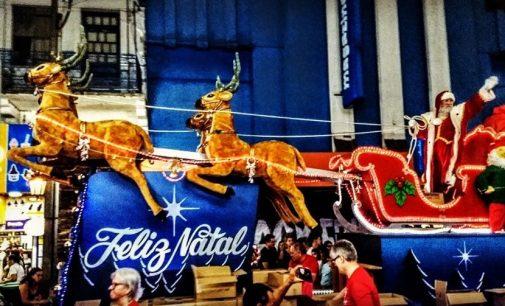 CDL: Papai Noel chega em Porto União da Vitória