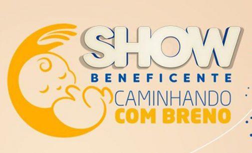 """Show beneficente """"caminhando com Breno"""" será realizado domingo"""