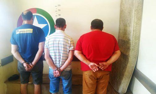 Polícia Militar prende três homens por furto em Porto União