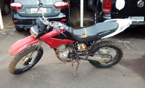 Equipe da 4° SDP recuperam moto furtada