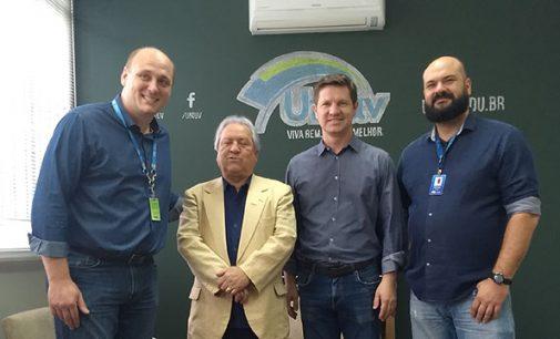Presidente do TCE, Nestor Baptista, visita União da Vitória
