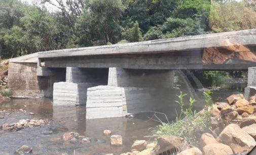 Ponte sobre o rio Liso será inaugurada no dia 17 de novembro