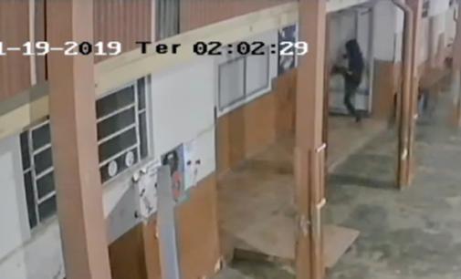 Escola Municipal Antônio Greselle é roubada seis vezes