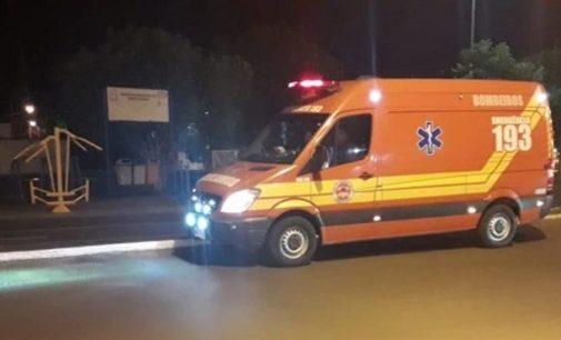 Jovem tem parada cardiorrespiratória em via pública de Porto União