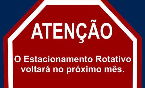 Prefeito de Porto União, fala da volta do Estacionamento Rotativo