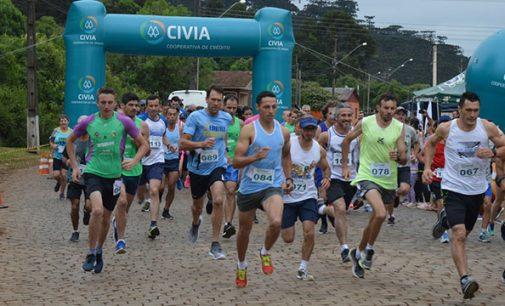 Mais de 330 atletas participam da 1ª General 5k