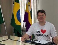 Rodrigo Marcante assume interinamente a Prefeitura de Bituruna