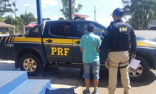 Homem é preso em operação da PRF em Porto Vitória
