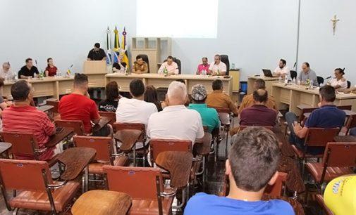 Biturunenses debatem segurança pública na reunião do Conseg