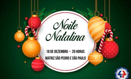 """Cultura: Paroquia São Pedro e São Paulo fará """"Noite Natalina"""""""