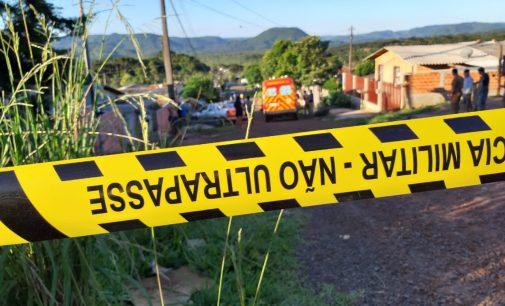 União da Vitória: Homicídio no bairro Lagoa Dourada