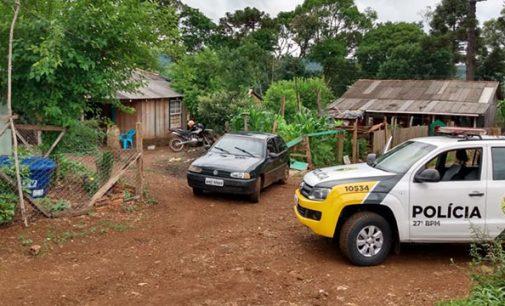 Polícia Militar de Cruz Machado recupera veículo furtado