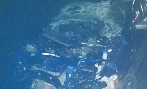 Condutor sai ileso em acidente na BR 153