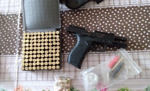 Polícia Militar apreende arma e munições em União da Vitória