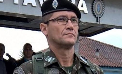 Coronel Damásio deixa o comando do 5º BE CMB BLD