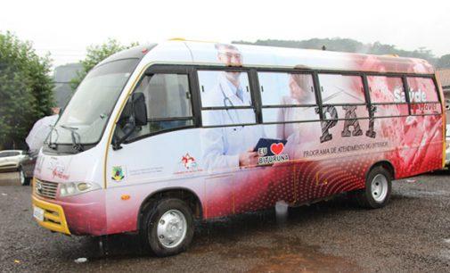 Projeto PAI recebe novo ônibus para atendimentos