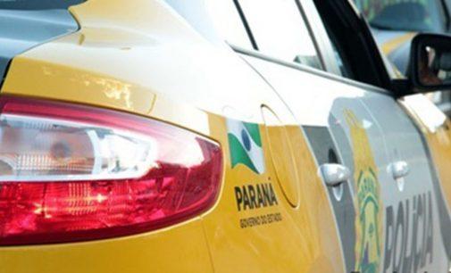 União da Vitória: Condutor colide em poste após dormir no volante