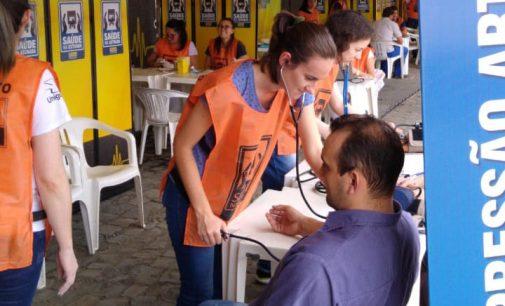 Uniguaçu participa do Programa Saúde na Estrada