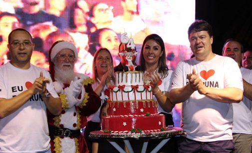 Bituruna completa 64 anos com show e bolo