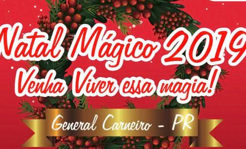 """""""Natal Mágico"""" de General Carneiro inicia no dia 12"""