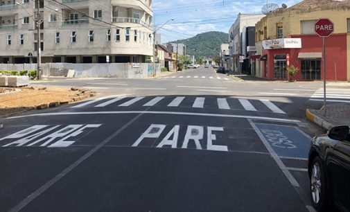 Rua Visconde de Guarapuava agora é preferencial