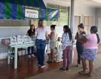 Bituruna troca lixo reciclável por 215 kg de alimentos na Ecofeira