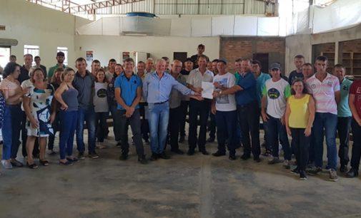 Duas Associações de Produtores recebem implemento Agrícolas