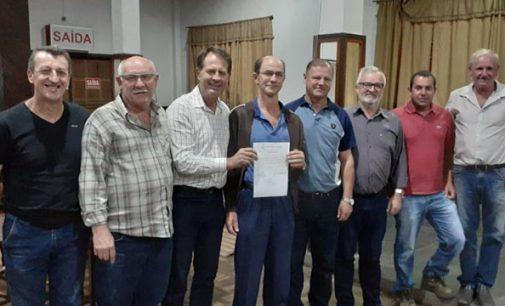 São Miguel da Serra recebe implemento agrícola