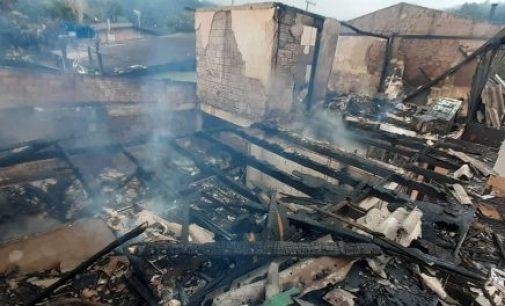 Primeiro dia de 2020 com incêndio em União da Vitória