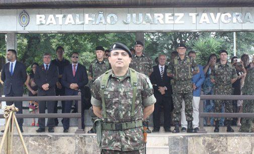 Tenente Coronel Rogério assume o 5º BE Cmb Bld