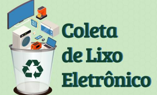Dia D de Coleta de Lixo Eletrônico será dia 8 em Bituruna