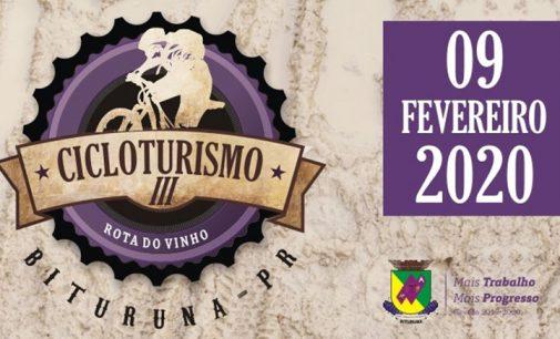 3° Cicloturismo Rota do Vinho tem novo percurso
