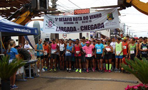 Bituruna realiza o 6º Desafio Internacional Rota do Vinho