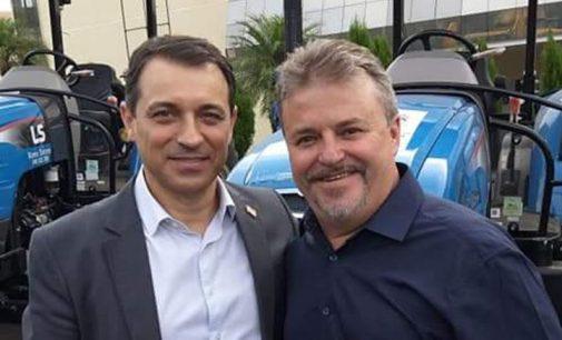 Matos Costa: Governador de SC recebe prefeitos da Amarp