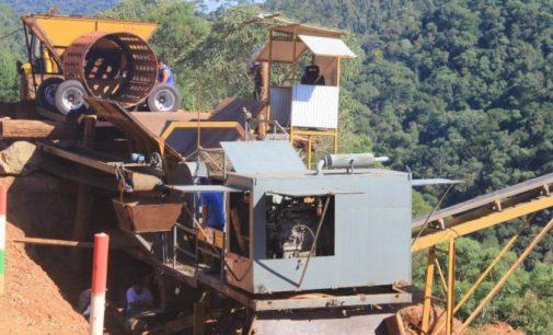 Prefeitura de Bituruna registra furto no britador móvel