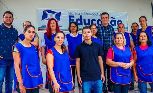 Empresa é contratada para limpeza dos Cmeis de União da Vitória