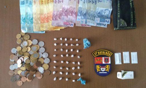 Mulher é presa por tráfico de drogas em União da Vitória