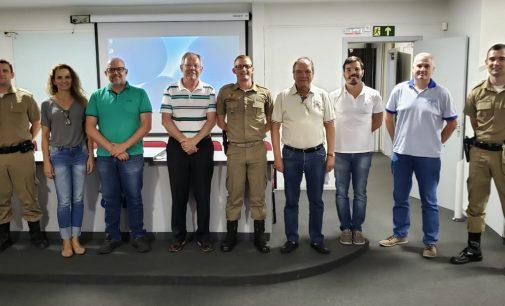 Polícia Militar de Porto União firma parceria com CDL