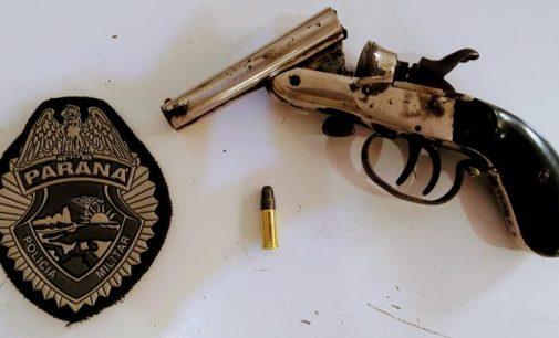 União da Vitória: Policiais recuperam arma de fogo usada em Paula Freitas