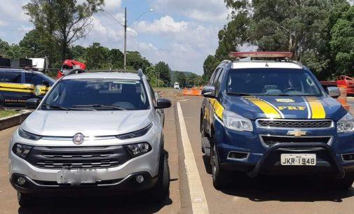 Porto Vitória: PRF recupera clone de veículo furtado em 2016