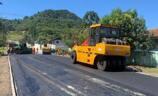 Quatro ruas são pavimentadas em União da Vitória