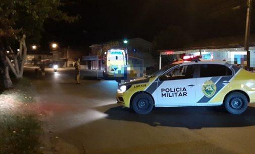Motociclista fica ferido em acidente no distrito de São Cristóvão