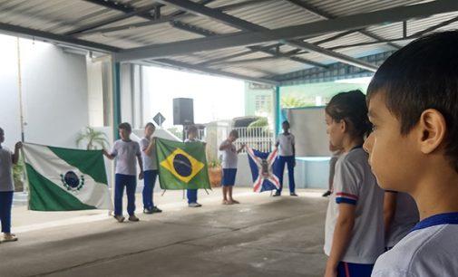 2020: Projeto Nossa Bandeira tem início nas cidades irmãs