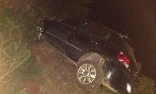Homem fica ferido ao capotar veículo na SC 135