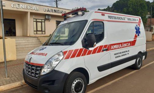 Saúde de General Carneiro recebe nova ambulância